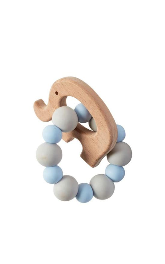 Mud Pie Wood Teether-Mud Pie-Sandy's Secret Wednesdays Unique Boutique