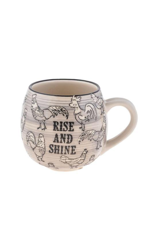 Rise & Shine Mug-Karma-Sandy's Secret Wednesdays Unique Boutique