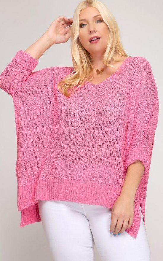 Sandy's Favorite Knit Sweater - Curvy-La Vida-Sandy's Secret Wednesdays Unique Boutique