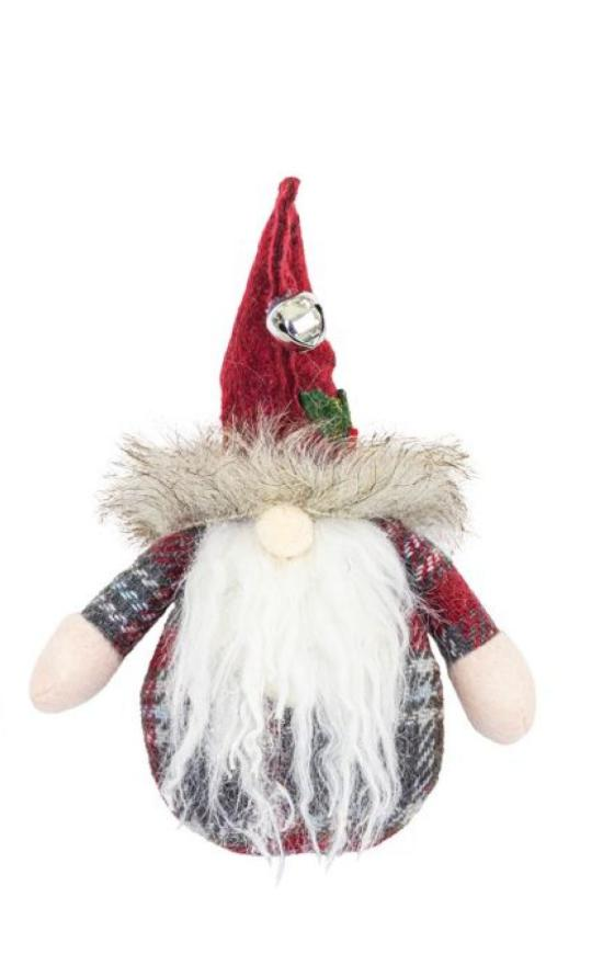 Santa Gnome Ornament-Hanna's Handiworks-Sandy's Secret Wednesdays Unique Boutique
