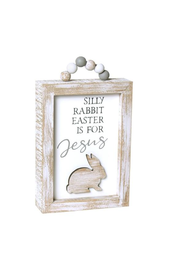 *Silly Rabbit Box Sign-Collins Painting & Design-Sandy's Secret Wednesdays Unique Boutique