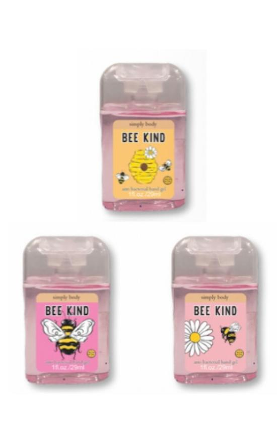 *Simply Southern Bee Kind Mini Hand Sanitizer-Simply Southern-Sandy's Secret Wednesdays Unique Boutique