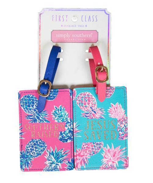 * Simply Southern Luggage Tag Set-Simply Southern-Sandy's Secret Wednesdays Unique Boutique