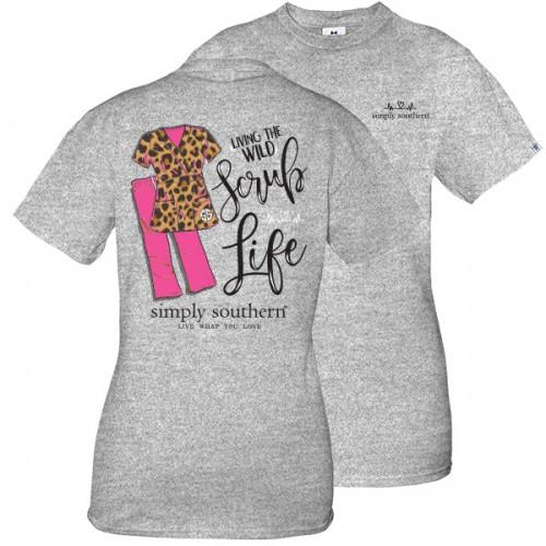 Simply Southern Scrub Life Tee-Simply Southern-Sandy's Secret Wednesdays Unique Boutique