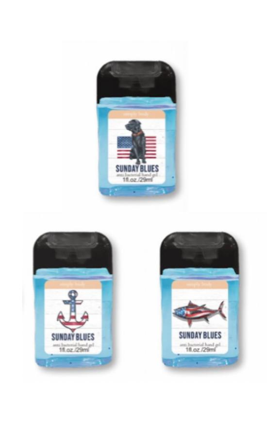 *Simply Southern Sunday Blues Mini Hand Sanitizer-Simply Southern-Sandy's Secret Wednesdays Unique Boutique
