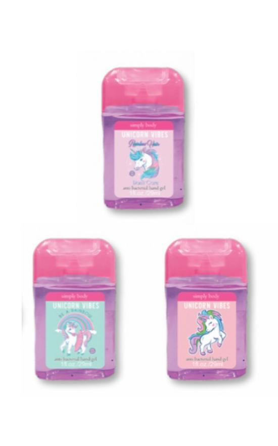 *Simply Southern Unicorn Vibes Mini Hand Sanitizer-Simply Southern-Sandy's Secret Wednesdays Unique Boutique