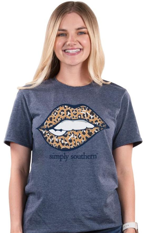 *Simply Southern Vintage Lip Tee-Simply Southern-Sandy's Secret Wednesdays Unique Boutique