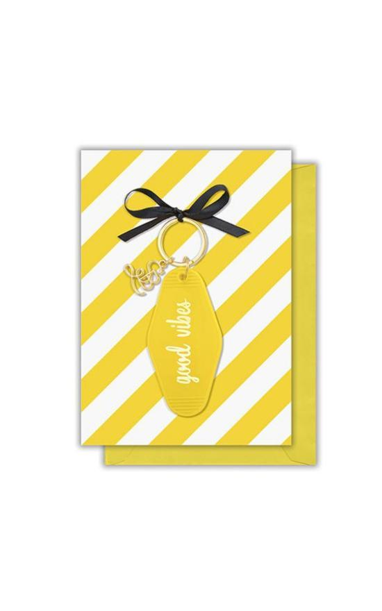 Statement Card with Keychain-Santa Barbara Design Studio-Sandy's Secret Wednesdays Unique Boutique