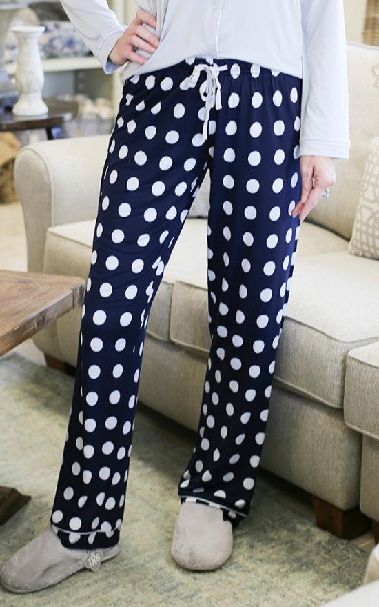 The Royal Standard Dottie Sleep Pants-The Royal Standard-Sandy's Secret Wednesdays Unique Boutique