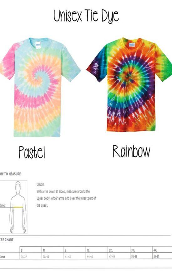 Tie Dye Walk By Faith Tee-Cali Boutique-Sandy's Secret Wednesdays Unique Boutique