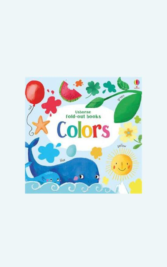 Usborne Fold Out: Colors Book-Usborne-Sandy's Secret Wednesdays Unique Boutique