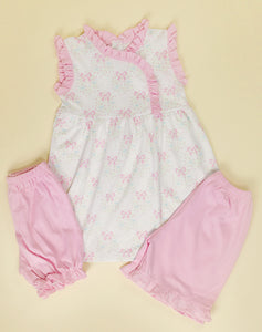 Pima Eloise tunic/ shorts set