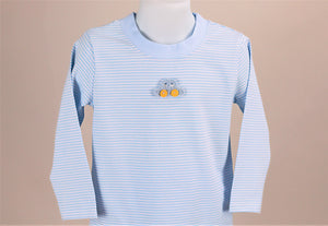 PBJ boy set Lt. Blue / solid blue