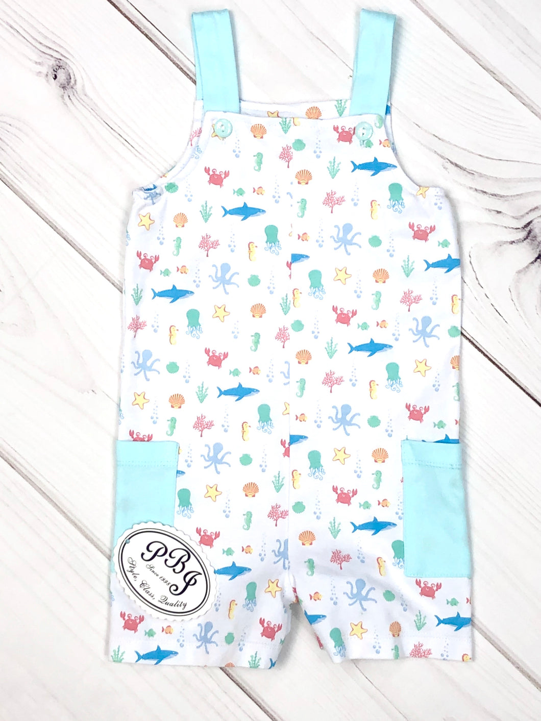 Pima Harry sunsuit / Under the sea