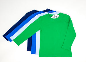 Crewneck color shirt