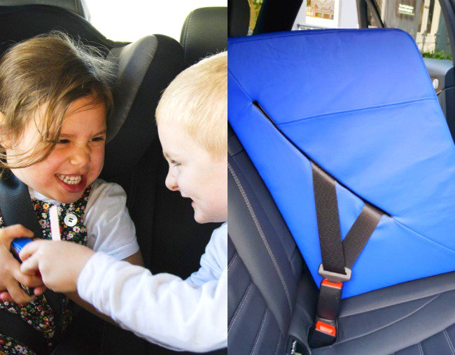 Mamamia: This desperate dad's hack to stop his kids fighting in the car is genius.