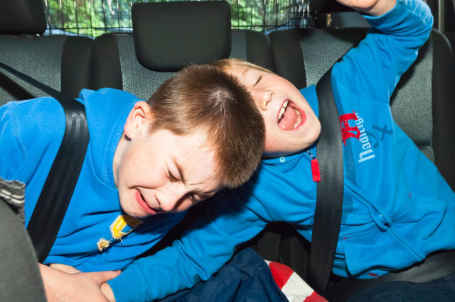 Mouths Of Mums: A Sydney-based father-of-two has invented a genius device to stop children fighting in the back seat of the car