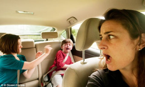 Lci.fr: Your children are arguing in a car? This dad found a simple way to bring calm back to the backseat