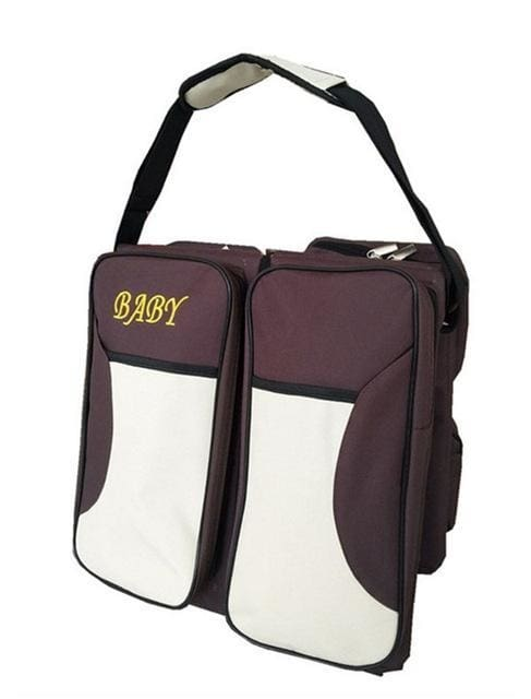 3-In-1 Portable Diaper Bag - Coffee