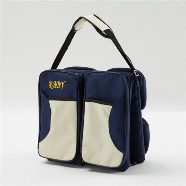 3-In-1 Portable Diaper Bag - Navy Blue