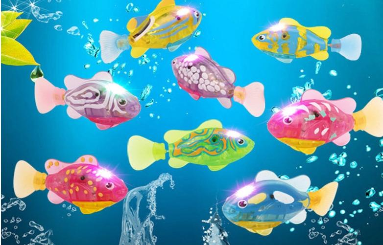 High quality Robot Fish (x 4 fishes)