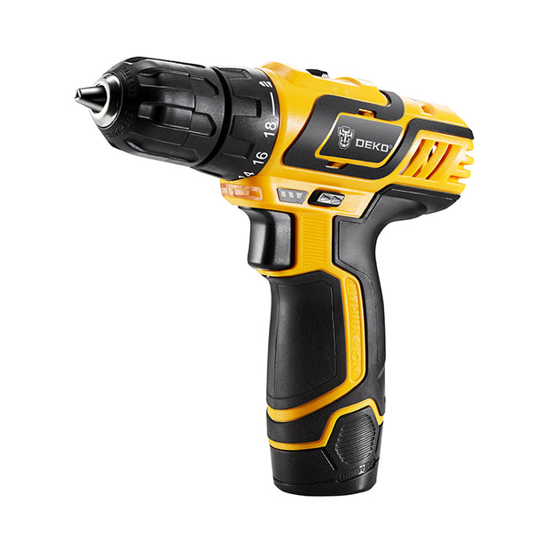 DEKO10.8V DC New Design Household Lithium-Ion Battery Cordless Drill/Driver Power Tool