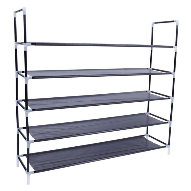Shoe Rack Organizer 5 Tier Layer Standing - Home - Storage