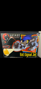 Bat-Signal Jet - some creasing