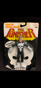Punisher vintage bendie damaged card