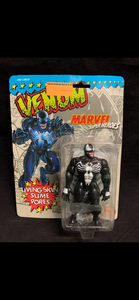 Venom Toybiz vintage damaged packaging/bubble lifting