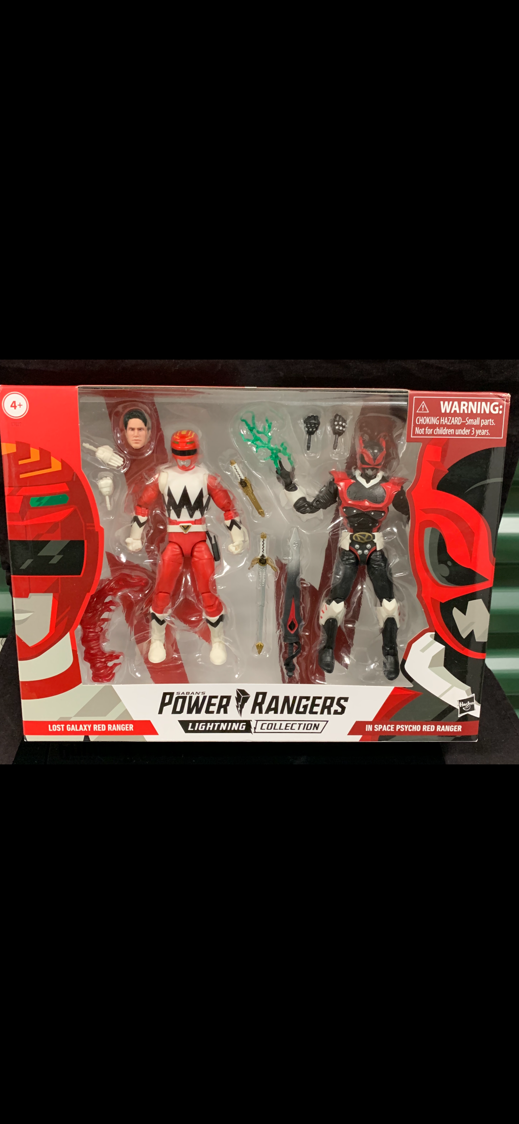 Power Rangers lightning collection 2 pack