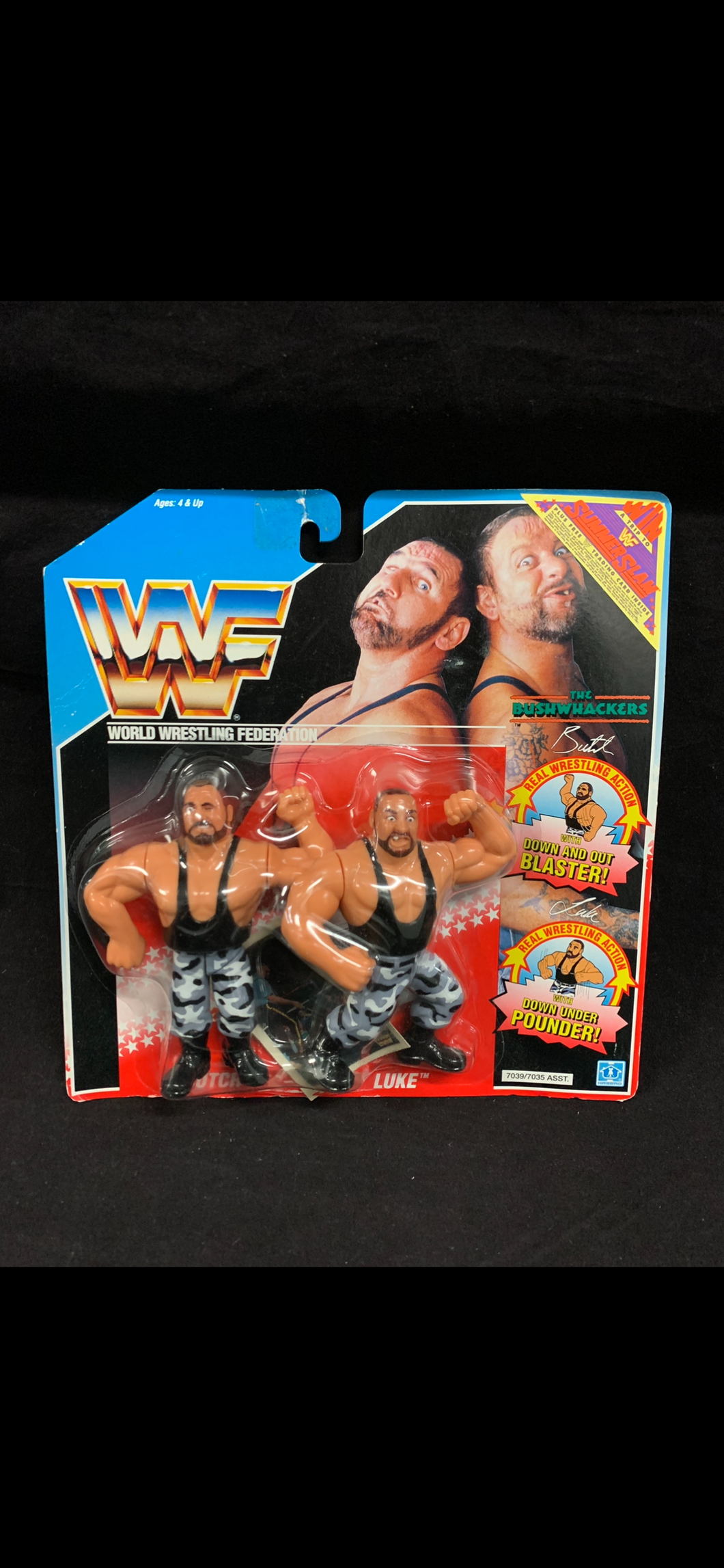 Bushwhackers Hasbro bubble lift (wear)