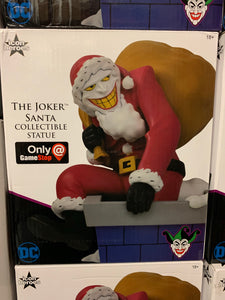 *DOORBUSTER* Santa Joker mini statue NEW