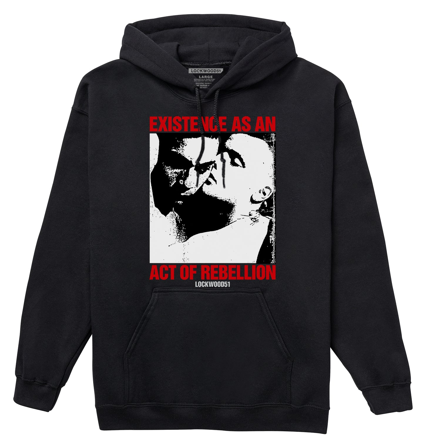 Existence As An Act Of Rebellion Queer LGBT Hoodie