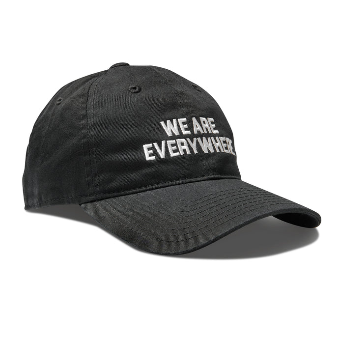 We Are Everywhere Hat • Black