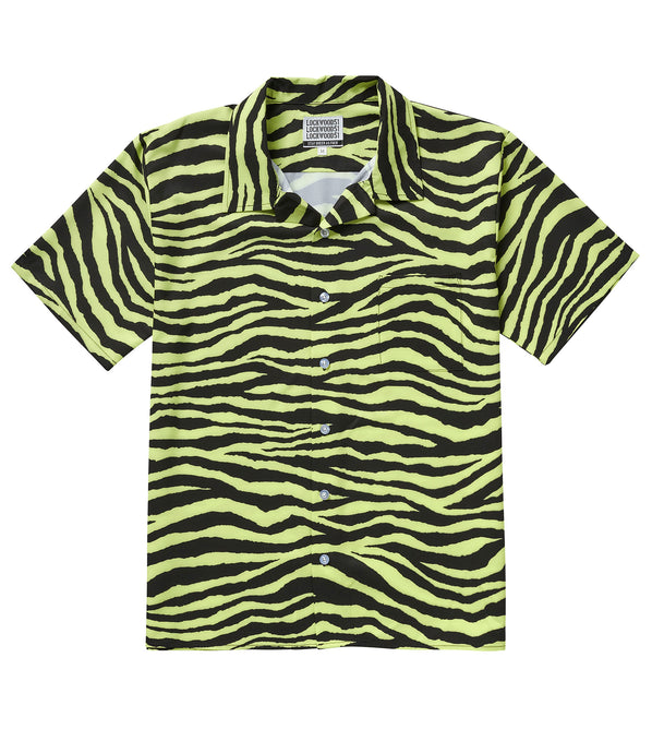 Zebra Eco Lounge Shirt • Frosted Lime