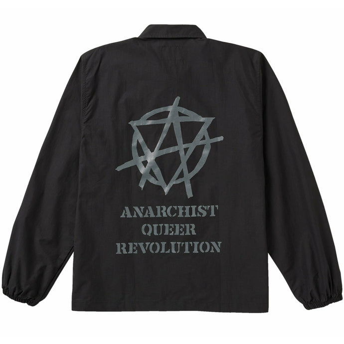 Anarchy Nylon Jacket • Black