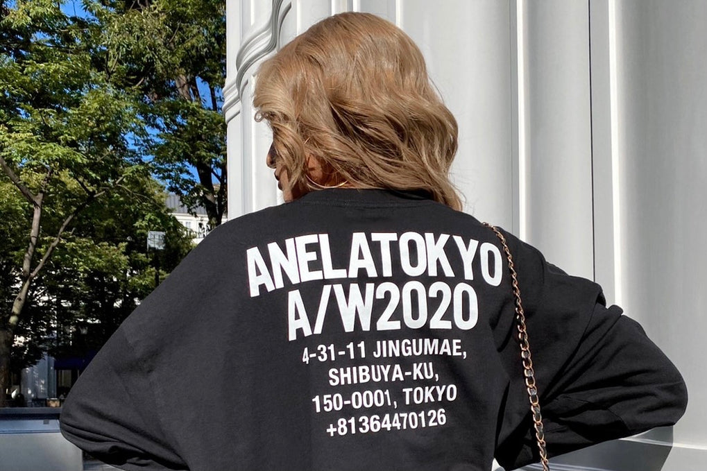 ANELATOKYO LOGO Long T-shirt|LOGO COLLECTION