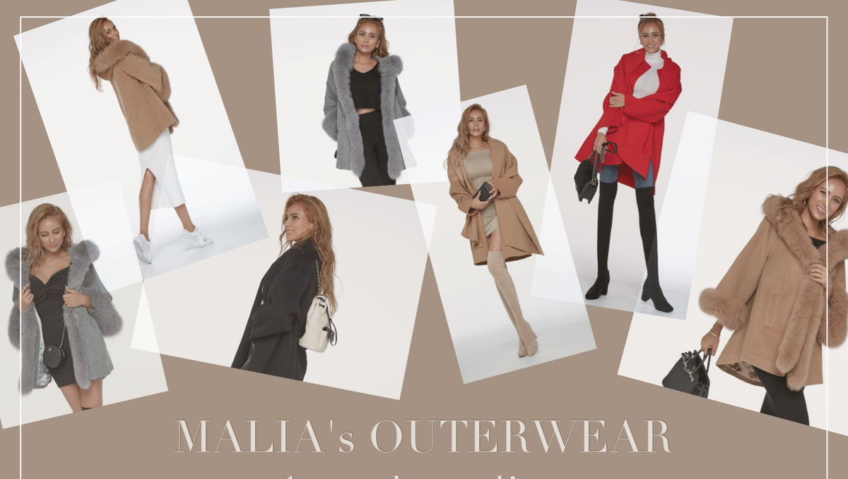 MALIA's OUTERWEAR | 1 week styling