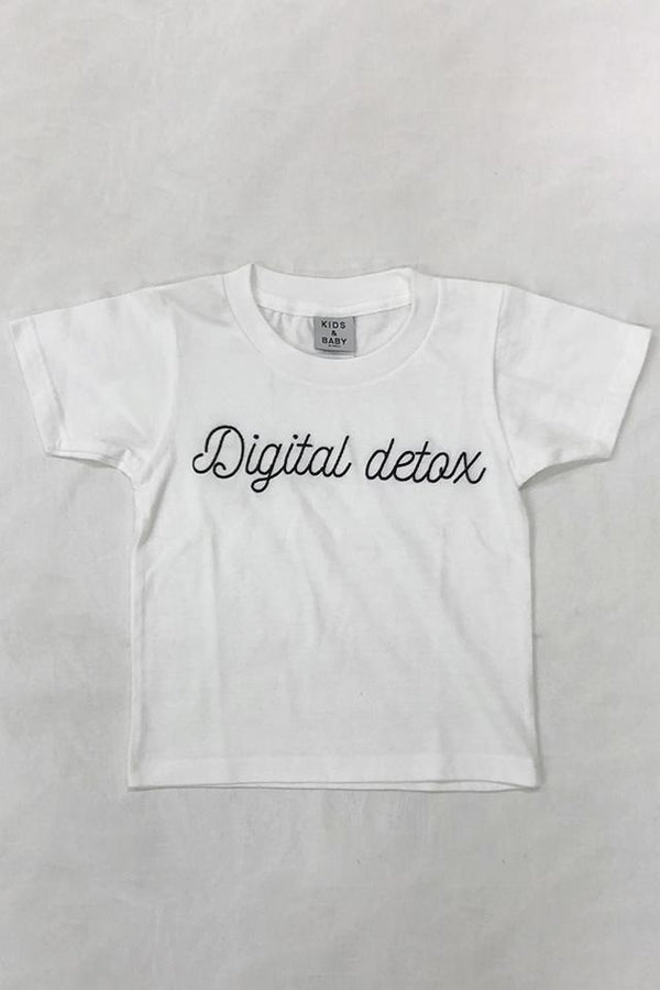 Digital detox KIDSTシャツ