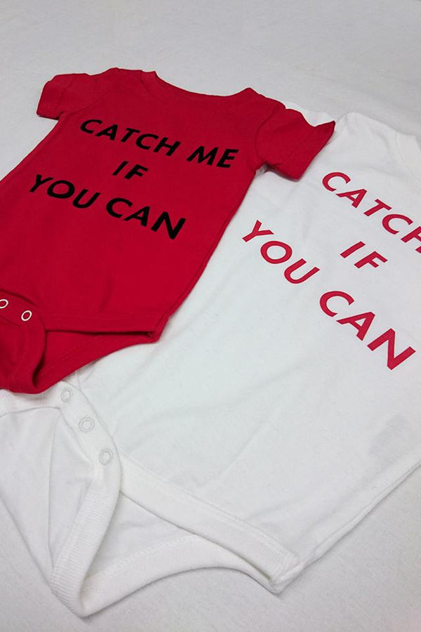 CATCH ME IF YOU CANロンパース
