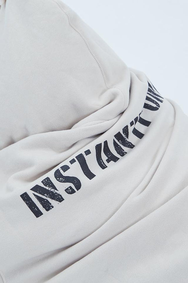 【INSTANTFUNK×ANELATOKYO】logo hooded sweatshirt