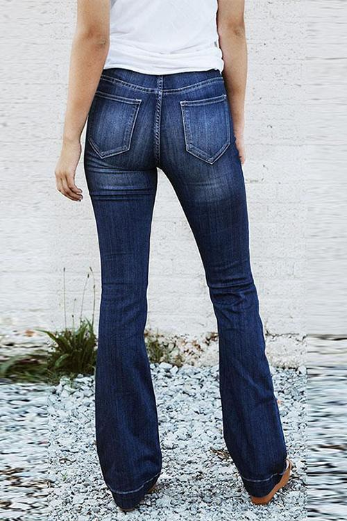 58331c12175 Shyoin The Isabella Mid Rise Flare Jeans