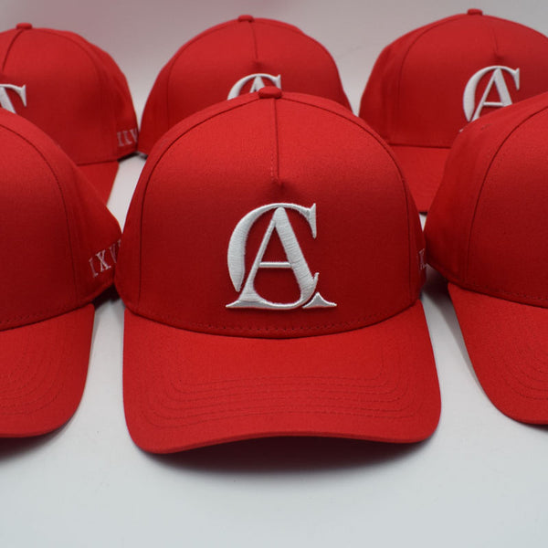 CHERRY RED A-FRAME SNAP BACK
