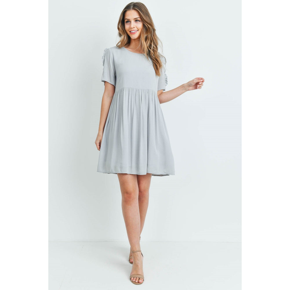 The Lena Dress, Gray