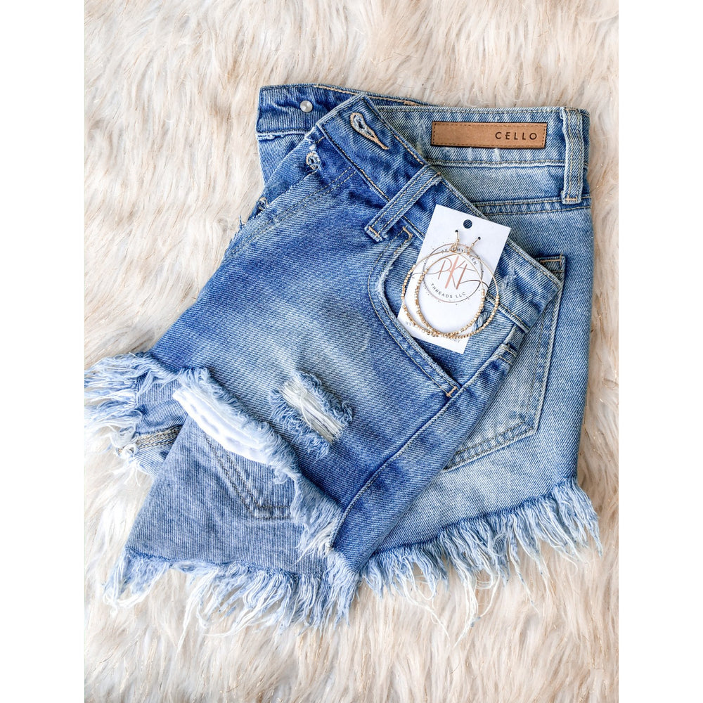 Summer Days Shorts, Denim