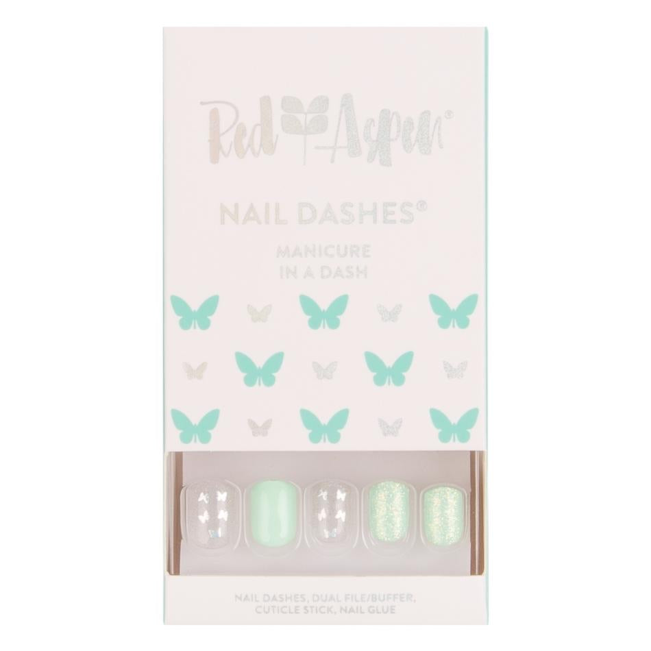 Aspen Nails, Kayleigh's Kaleidoscope Butterfly Square