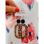 The Erin Earrings, Leopard