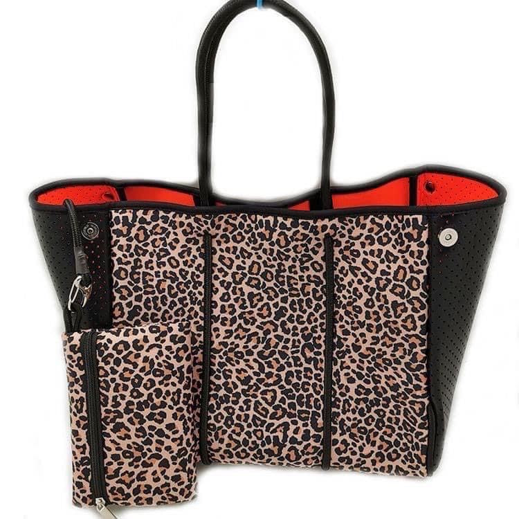 The Miami Bag, Leopard Neoprene