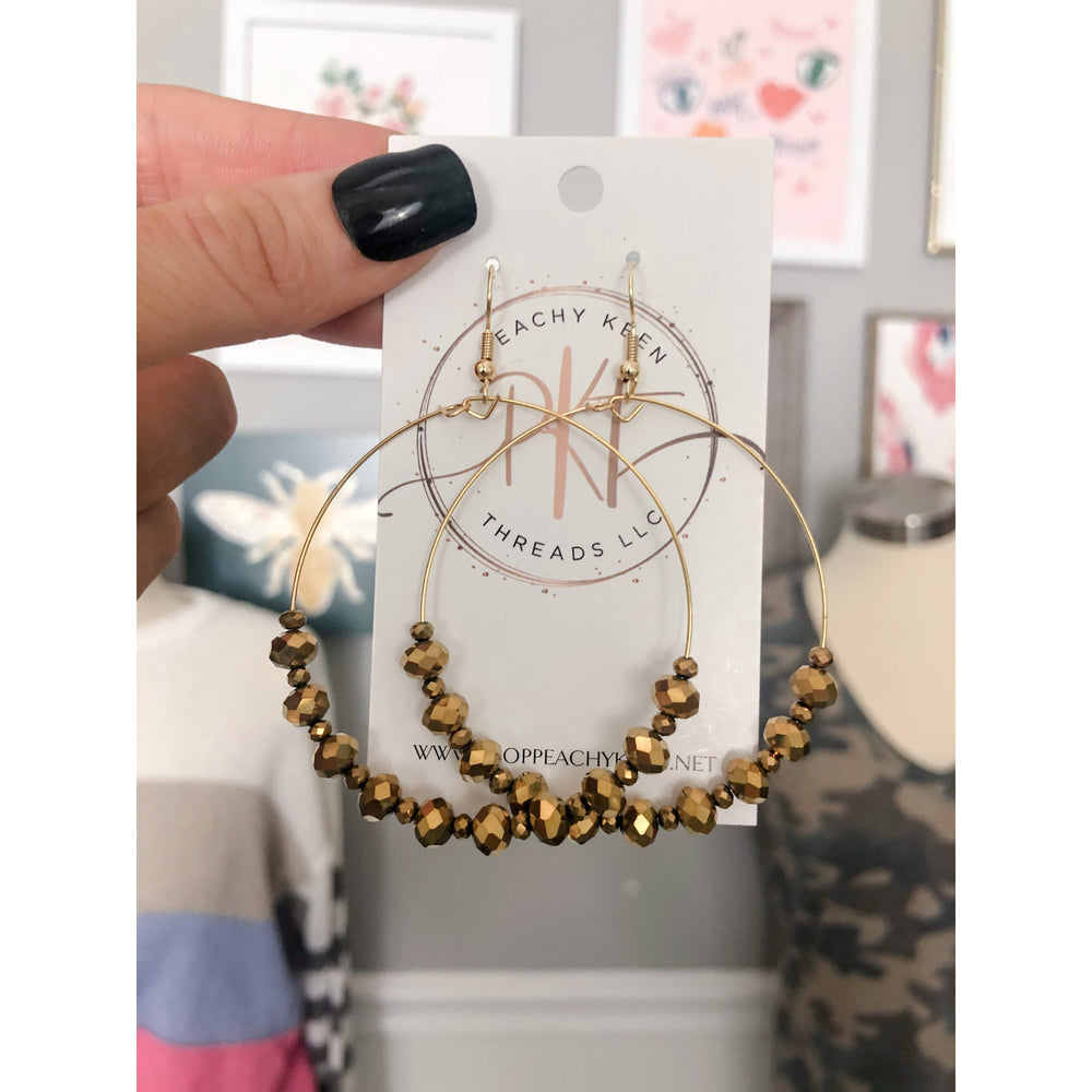 The Carissa Hoops, Gold